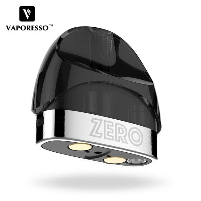 Original Vaporesso Renova Zero Pod with 2ml Capacity and 1.0ohm Coil Head E-cig Vape Tank for Vaporesso Renova Zero Pod Kit