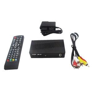 Image 5 - DVB T2 DVB T uydu alıcısı HD dijital TV Tuner alıcı MPEG4 DVB T2 H.264 karasal TV alıcısı DVB T Set üstü kutusu vs K3