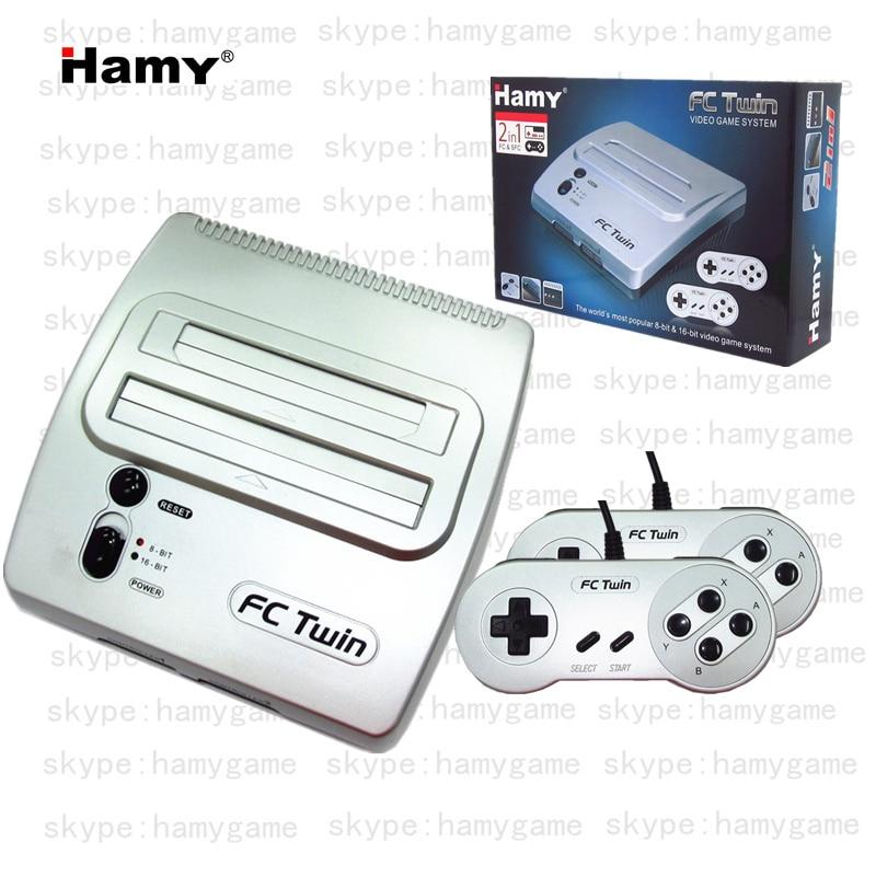 HAMY système de divertissement 16 bits TV/console de jeu vidéo C 7 jouer à la fois amérique du nord et japonais Super NES jeux et ordinateur célèbre-in Consoles de Jeux vidéo from Electronique    1