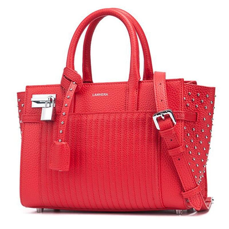 Nell'autunno del 2017 nuova borsa in pelle borsa di cuoio nuovo rivetto pacchetto Xiekua all'ingrosso della fabbrica una generazione