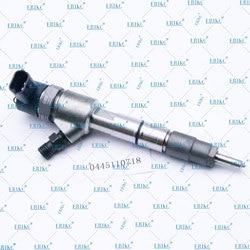 ERIKC 0445110718 wtryskiwacze paliwa OEM 1100200FA130 Diesel z technologią wtrysku Common Rail 0445 110 718 dysza natryskowa 0 445 110 718 dla JAC