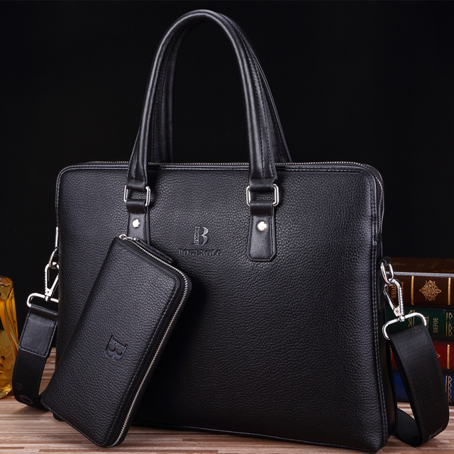 2017 New Arrival Men S Cowhide Leather Bag Briefcases Business Bags High Quality Man Best