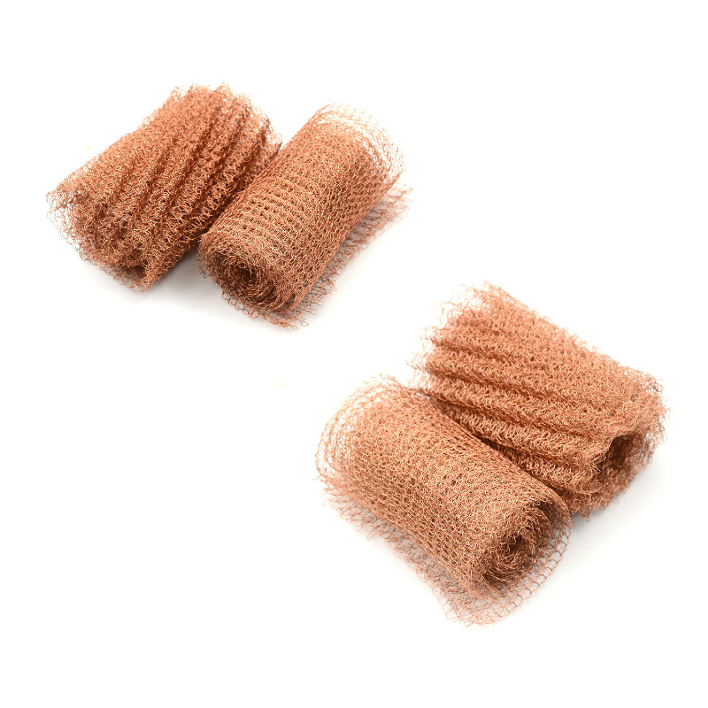 100mm Width Corrugated Copper Mesh For Distillation Reflux Moonshine Brewing Pest Control