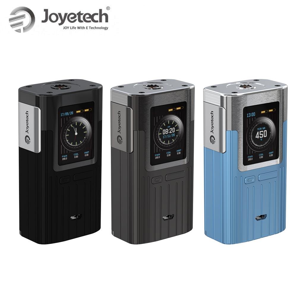 100% Original Joyetech ESPION boîte Mod 200 W sortie 1.45 pouces grand écran côté bouton de feu Vape Cigarette électronique