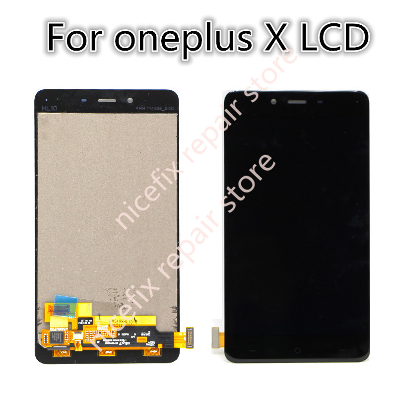 Oneplus X lcd display touch screen Sensor + Tools 100% New Digitizer Replacement For 5.0 inch one plus X mobile phone