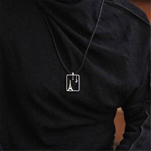 Image 4 - לוטוס כיף אמיתי 925 כסף סטרלינג בעבודת יד תכשיטים אייפל מגדל עיצוב תליון ללא שרשרת Acessorios עבור נשים