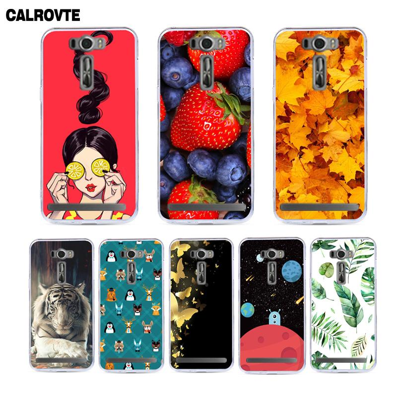 CALROVTE Phone Cover for ASUS Z00ED Zenfone 2 laser ZE500KL ZE500KG ZE ZE500 500 500KL 500KG KL KG 5.0 inch Back Case Covers image