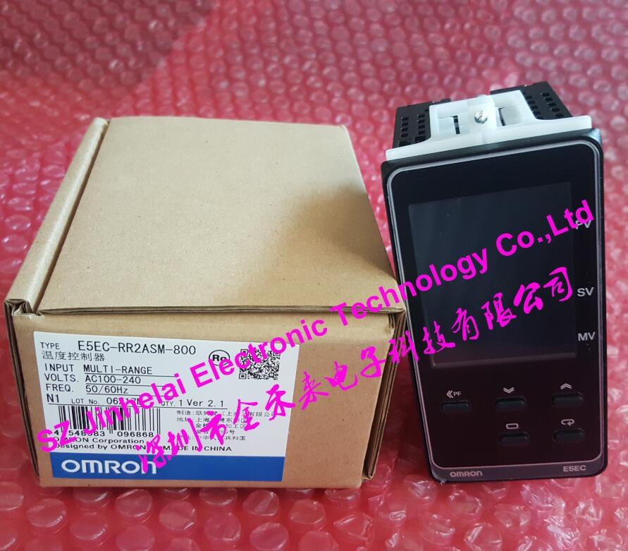 New and original OMRON Digital temperature controller E5EC-RR2ASM-800 AC100-240V new and original e5cz r2mt omron ac100 240v temperature controller