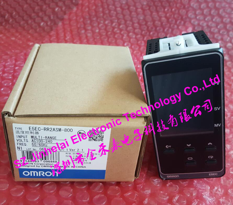 все цены на New and original OMRON Digital temperature controller  E5EC-RR2ASM-800  AC100-240V онлайн