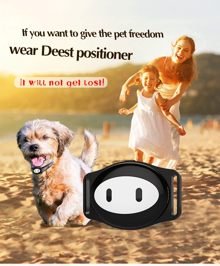 2018 NEW Pet GPS Tracker Dog Collar GPS For Cat GPS Collar D79 Waterproof IP68 Realtime Tracking Device Geofence WiFi LBS Locate d79 gps pet tracker