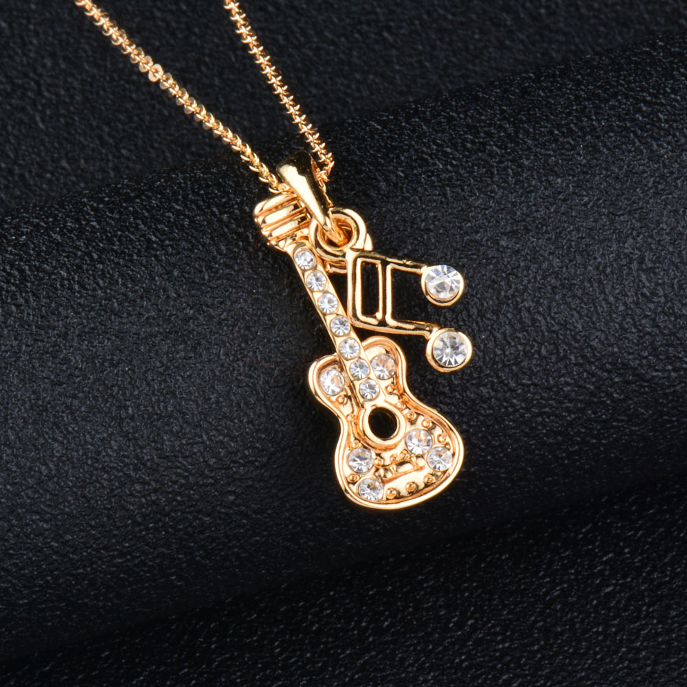 SINLEERY Μουσική Σημείωση Κολιέ Κολιέ με - Κοσμήματα μόδας - Φωτογραφία 4
