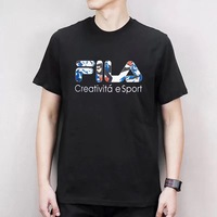 2019 Mens T shirt FILA New Men's Leisure Sports Short sleeved T shirt cotton breath boyfriend gift more styles size M L XL XXL