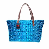 3D crocodile pattern prints Handbags luxury handbags women bags designer Women tote bag Shoulder Bag side bag neoprene material