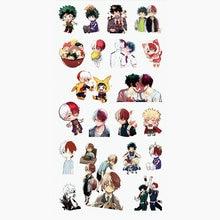 boku no hero academia My Hero Academia Luxury Anime Stickers For Phone Laptop Book Plastic Transparent Decal Toy Sticker