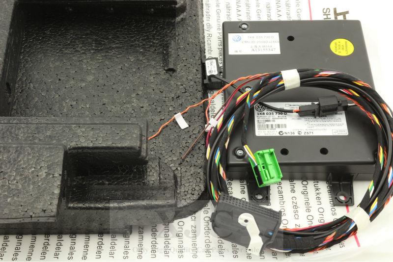 Vw Bluetooth Module 9w2 1k8 035 730 D Microphone Harness