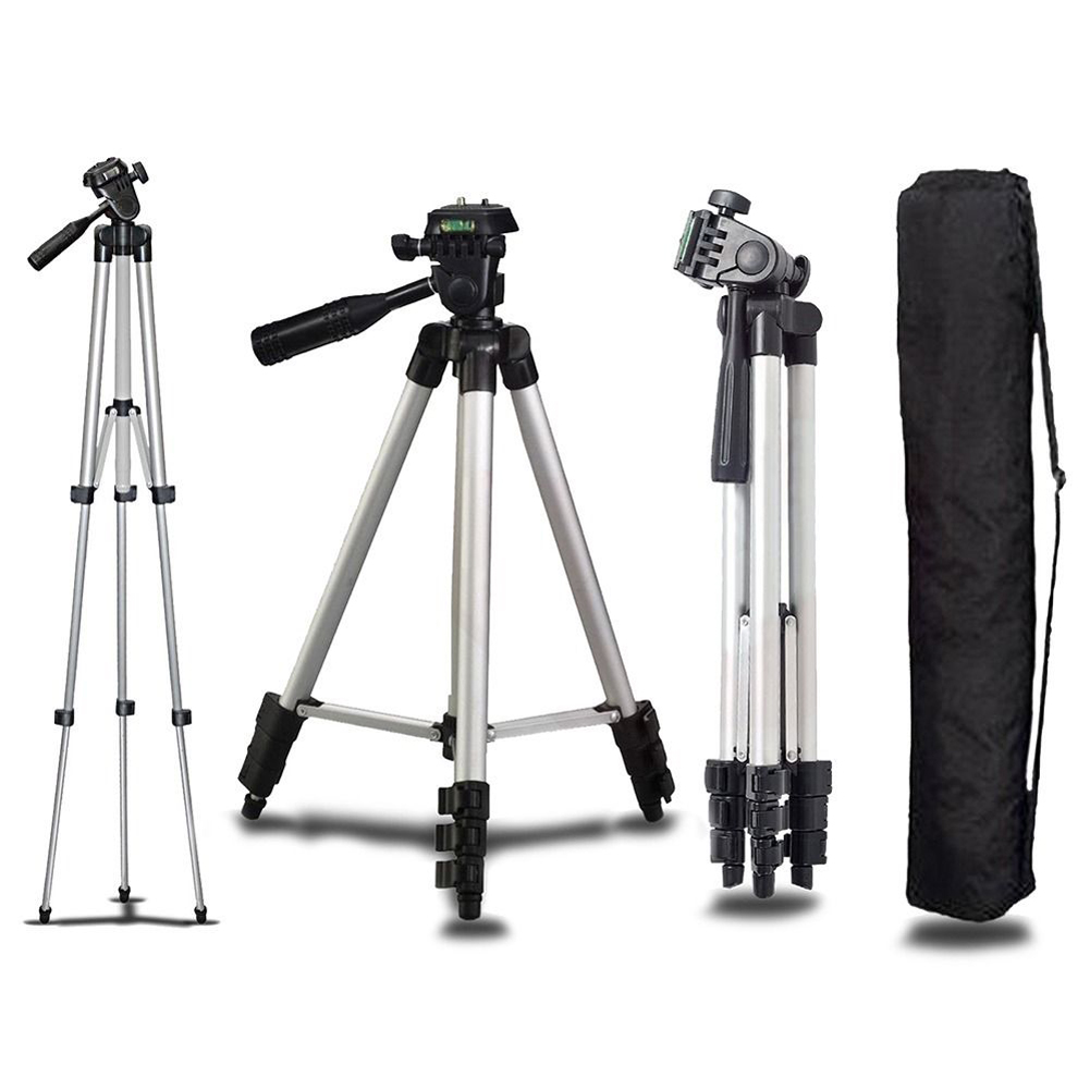 2019 Latest Design Universal Professional Portable Aluminum Camera Tripod Stand Holder & Bag For Canon Nikon Sony Panasonic Camera Tripods New