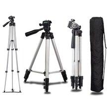 Универсальный Профессиональный Портативный Алюминий Камера штатив Стенд держатель и сумка для Canon Nikon Sony Panasonic Камера Штативы
