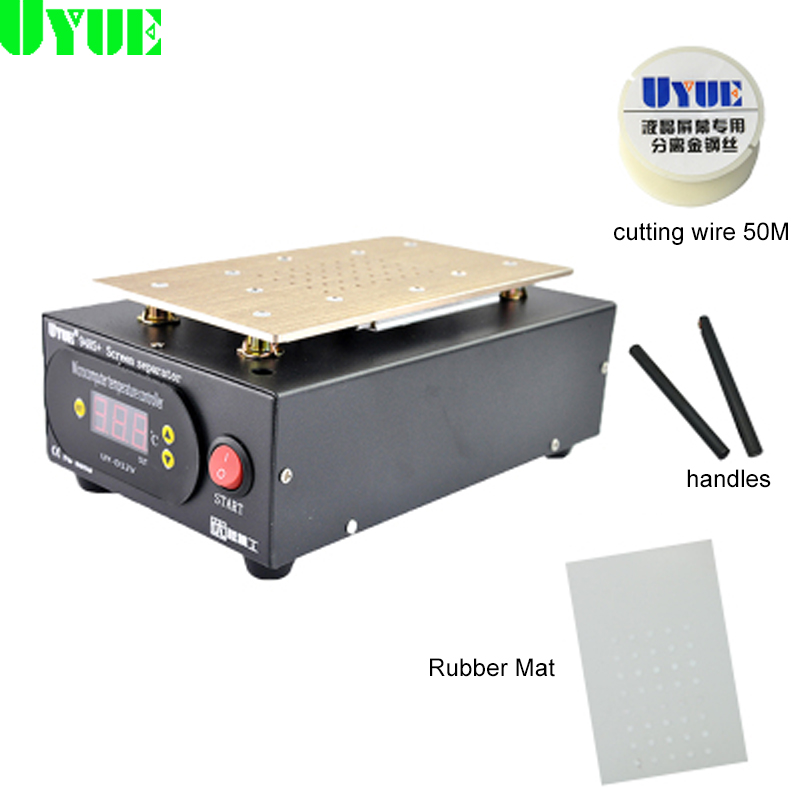 YOUYUE 948S+ LCD Screen Separator Machine Touch Screen Digitizer Removal for Smart Mobile Phone 7 Inch and Below bst 855a lcd vacuum separator touch screen assembly splitter below 7 inches cellphonesplit screen machine