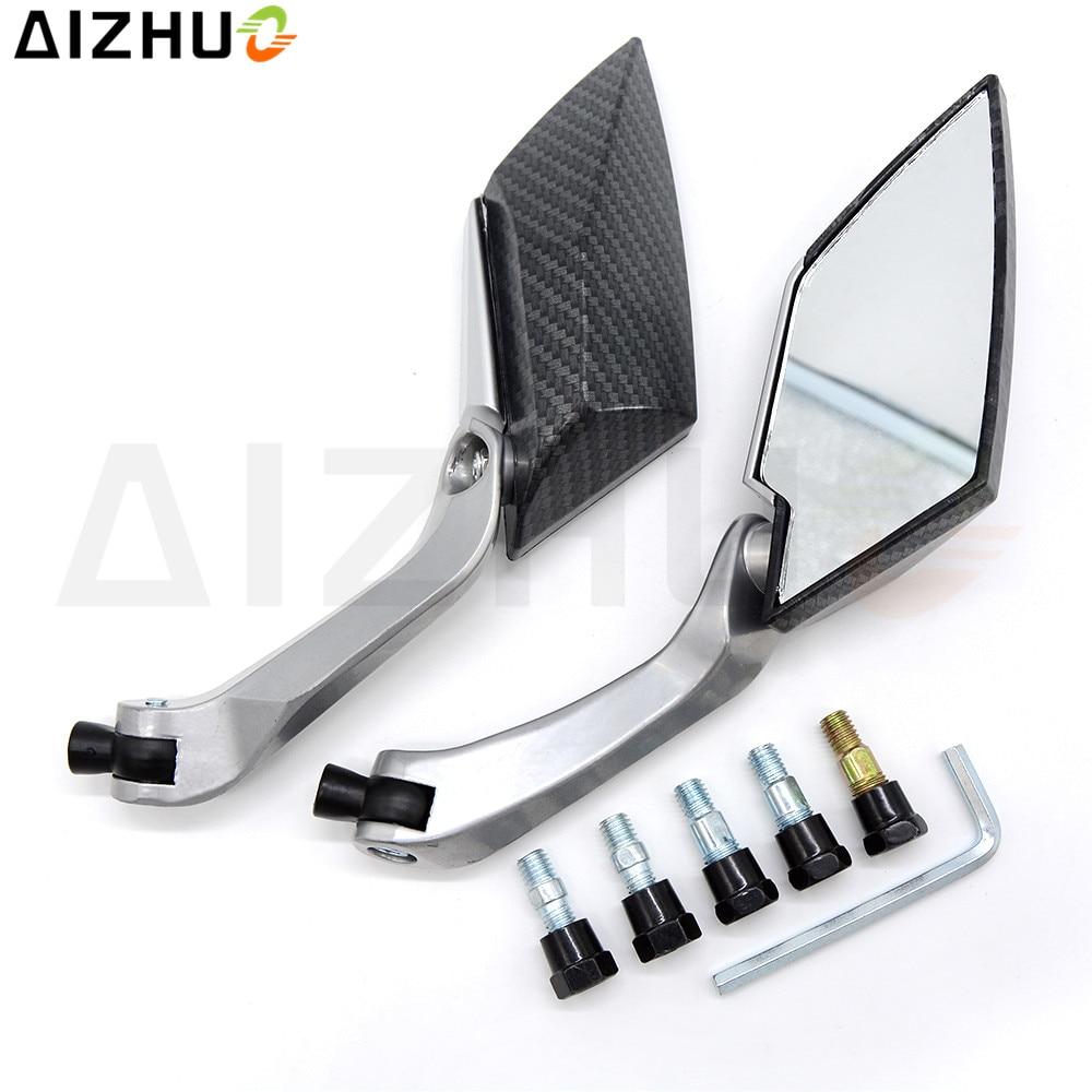 motorcycle Accessories Rearview mirrors motor Aluminum alloy side for kawasaki suzuki Ducati YAMAHA Honda Streetbike