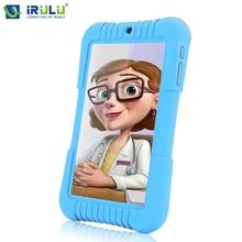 "Gms y3 irulu 7 ""ips 1280*800 tablet pc quad core android 5.1 Tablet Dual Cam 1 GB + 16 GB Wifi Bluetooth Prezent dla Dzieci Niebieski"