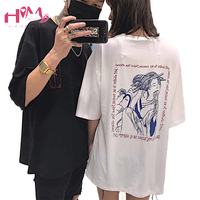 Summer Letters T Shirt For Women Casual Boyfriend Japanese Harajuku Oversized Graphic Funny Female T Shirts