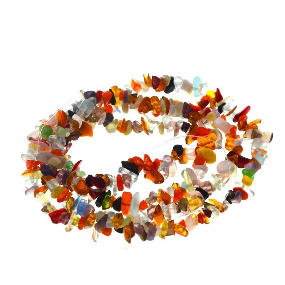 Free Shipping Natural Stone Freeform 4-8mm Mix Multicolor Agates Beads or Amythysts Aventurine U Pic