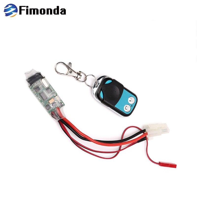 Winch Wireless Remote Control Receiver for Traxxas Hsp RC Crawler Car 1//10 SCX10