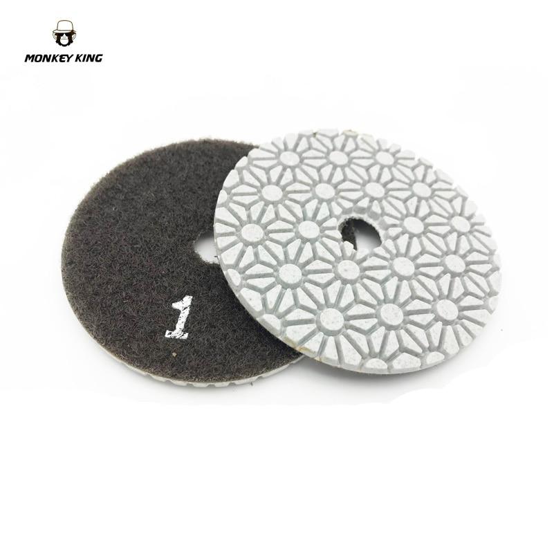 Dischi abrasivi diamantati per lucidare a secco / a secco dischi - Utensili elettrici - Fotografia 3