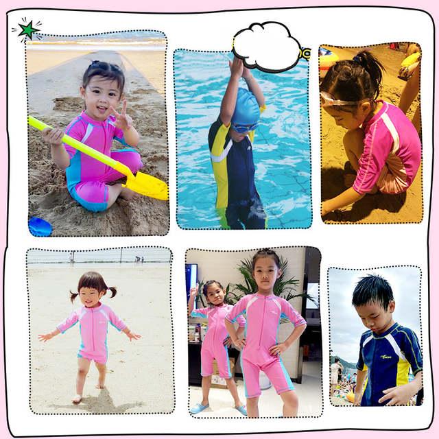 0a9973b380 Child Swimwear One Piece Boys Girls Swimsuits Kids Bathing Suits Baby  Swimsuit Girl Children Beach Wear