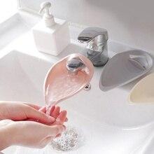 Переносной кран удлинитель водосберегающий сплошной цвет удлинитель для смесителя инструмент помощь детям мытье рук ванная комната кухонный инструмент