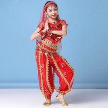 Children Belly Dance Costumes Bollywood Costume Girls Professional Stage Performance Wear Bellydance Outfits