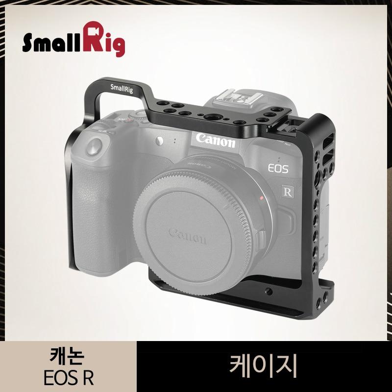 Cage de caméra SmallRig pour Canon EOS R Cage avec plaque de base suisse Arca intégrée Arri trou de localisation support de chaussure froide-2251