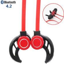 Original Magnética Sport Wireless Bluetooth Headset Running Auriculares Inalámbricos Auricular Auriculares para el teléfono
