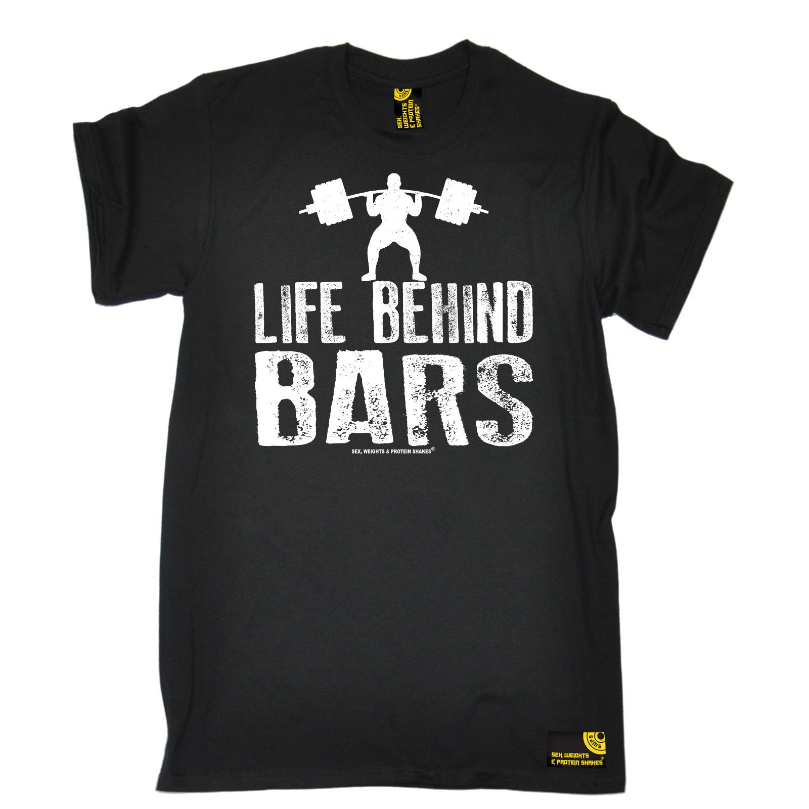 350d5e2e5 Life Behind Bars Weight Lifting T-shirt Tee Bodybuilding Funny Birthday  Gift Men Cotton T-Shirt Printed T Shirt
