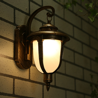 Outdoor wall lamp corridor balcony decoration lighting waterproof garden light lamp outdoor 220v 17.5*23*32Cm
