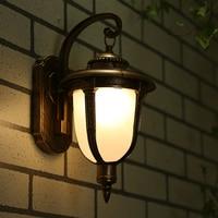 Outdoor wall lamp corridor balcony decoration lighting waterproof garden light lamp outdoor 220v 17.5*23*32Cm