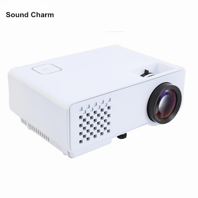 New Price Newest Portable HD Mini LED HDMI USB Home Video Projector 1000Lumen 800X480 Portable Proyector Beamer For Video Game