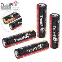 4Pcs TrstFire 14500 Battery 3 7V ICR14500 900Mah Li Ion Rechargeable Battery Batteries Baterias Bateria For