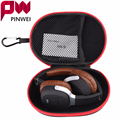 PINWEI EVA Headphone Case Portable Storage Headset Bag Earphone Accessories Zipper Box Headphones Box Earphone Earbuds Hard Case