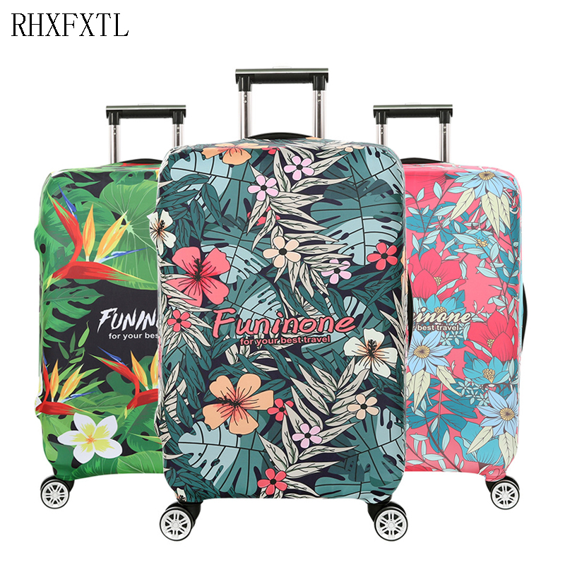 Travel Trolley Suitcase Elasticity Protective Covers Luggage Case S/M/L/XL 18-32 Inch Suitcase Dust Proof Cover Accessories H39