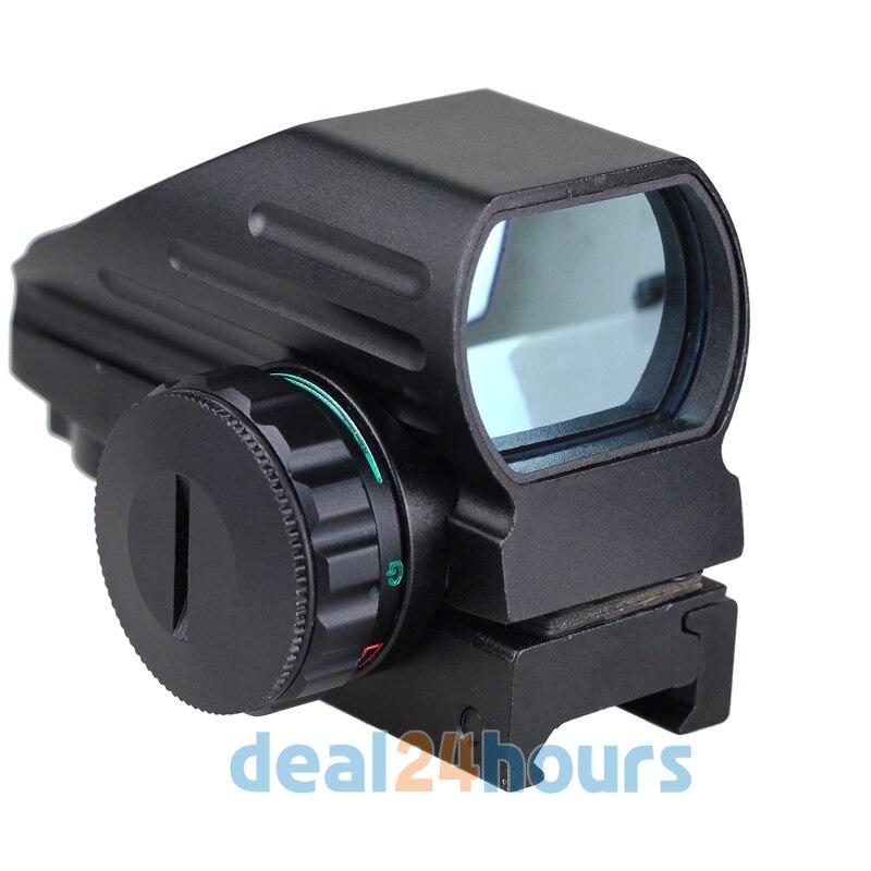 Red Green Laser Point Dot Sight font b Tactical b font Reflex Air Rifle Pistol Airgun