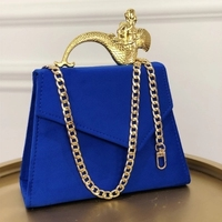 NEW party Retro Ladies Shoulder Bag blue Women Clutches Ladies Messenger Bags Crossbody Luxury Tote Handbag Purse Drop Shipping