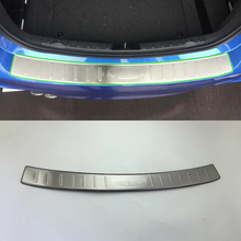 Car Accessories Interior Decoration Stainless Rear Outer Bumper Protector Scuff Plate Guard Cover Trim For BMW 3 Series 2017 rear bumper skid protector guard plate stainless steel for bmw x6 f16 2015