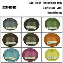 ESNBIE QUANG HỌC Tùy Chỉnh Tint Ống Kính Ống Kính Theo Toa cho Đôi Mắt To 1.56 Index Aspheric Kính Lens Màu Mắt Kính Lens