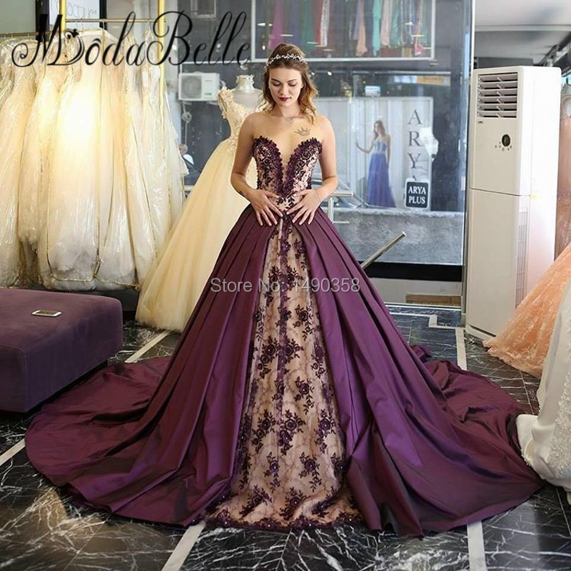 Online Get Cheap Purple Bridal Satin Aliexpresscom Alibaba Group