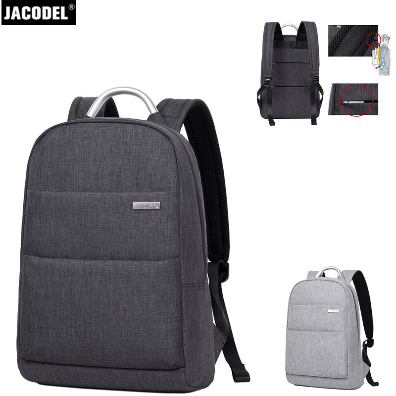 Jacodel 2017 Business Laptop Bag 15.6 inch Laptop Back Pack for Computer Backpack Casual School Bags for Teenagers Boys Girls jacodel unisex large capacity backpack for 15 6 inch laptop bag for dell asus 15 6 men 15 6 girls travel back pack school bags