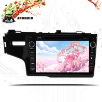 3/4G Android 9.0 IPS SCREEN DSP AV Output CAR DVD PLAYER For Honda Fit jazz 2014 2018 GPS player navigation radio stereo pc