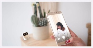 Image 5 - Xiaomi Xiaomo AI camera Mini camera 13MP CG010 Self Portraits Intelligent Gesture Recognition Free Shooting Angle Cam Smart APP