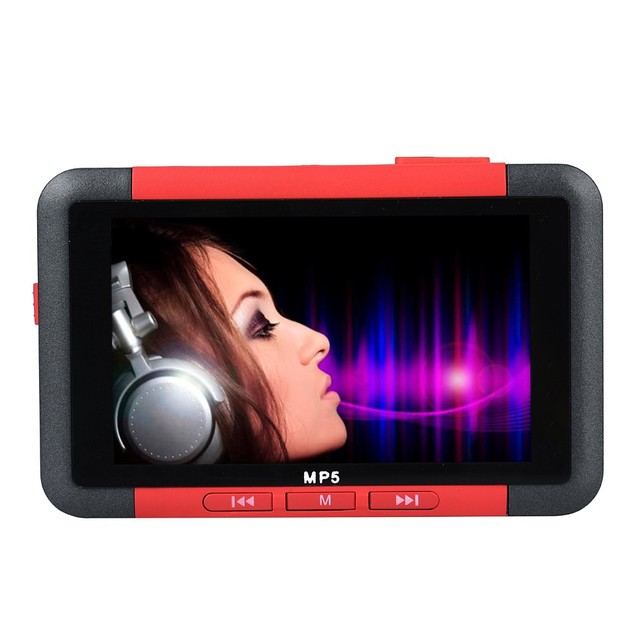 Mosunx offre spéciale 8 GB Slim MP3 MP5 lecteur de musique avec 4.3 écran LCD FM Radio vidéo film prise en charge pour WINDOWS XP/Vista/2000