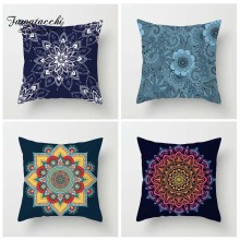 Fuwatacchi Floral Bohemian Style Cushion Cover Vintage Mandalas Pillow Decor Home Sofa Bedroom Print Pillowcases